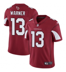 Youth Nike Arizona Cardinals #13 Kurt Warner Red Team Color Vapor Untouchable Limited Player NFL Jersey