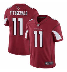 Youth Nike Arizona Cardinals #11 Larry Fitzgerald Red Team Color Vapor Untouchable Limited Player NFL Jersey