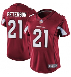 Women's Nike Arizona Cardinals #21 Patrick Peterson Red Team Color Vapor Untouchable Limited Player NFL Jersey