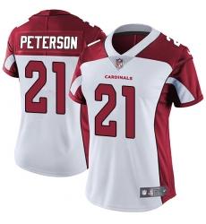 Women's Nike Arizona Cardinals #21 Patrick Peterson White Vapor Untouchable Limited Player NFL Jersey