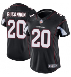 Women's Nike Arizona Cardinals #20 Deone Bucannon Black Alternate Vapor Untouchable Limited Player NFL Jersey
