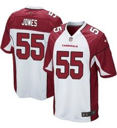 Men's Nike Arizona Cardinals #55 Chandler Jones Game White NFL Jersey