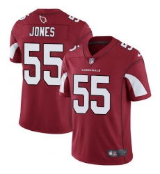 Men's Nike Arizona Cardinals #55 Chandler Jones Red Team Color Vapor Untouchable Limited Player NFL Jersey