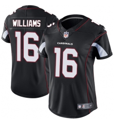 Women's Nike Arizona Cardinals #16 Chad Williams Elite Black Alternate NFL Jersey