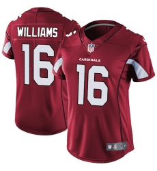 Women's Nike Arizona Cardinals #16 Chad Williams Elite Red Team Color NFL Jersey