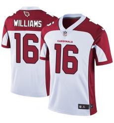 Youth Nike Arizona Cardinals #16 Chad Williams Elite White NFL Jersey