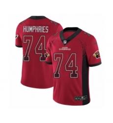 Men's Nike Arizona Cardinals #74 D.J. Humphries Limited Red Rush Drift Fashion NFL Jersey