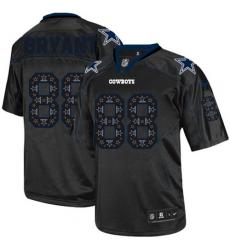 Men's Nike Dallas Cowboys #88 Dez Bryant Elite New Lights Out Black NFL Jersey