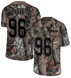 Youth Nike Baltimore Ravens #96 Brent Urban Limited Camo Salute to Service NFL Jersey