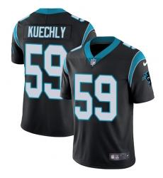 Youth Nike Carolina Panthers #59 Luke Kuechly Black Team Color Vapor Untouchable Limited Player NFL Jersey