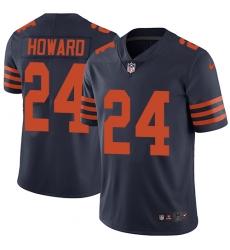 Youth Nike Chicago Bears #24 Jordan Howard Navy Blue Alternate Vapor Untouchable Limited Player NFL Jersey