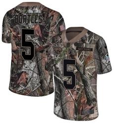 Men's Nike Jacksonville Jaguars #5 Blake Bortles Camo Rush Realtree Limited NFL Jersey