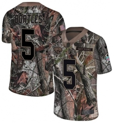Youth Nike Jacksonville Jaguars #5 Blake Bortles Camo Rush Realtree Limited NFL Jersey