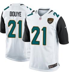 Men's Nike Jacksonville Jaguars #21 A.J. Bouye Game White NFL Jersey