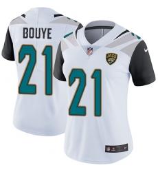 Women's Nike Jacksonville Jaguars #21 A.J. Bouye Elite White NFL Jersey