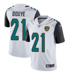 Youth Nike Jacksonville Jaguars #21 A.J. Bouye White Vapor Untouchable Limited Player NFL Jersey