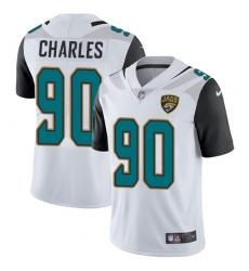 Youth Nike Jacksonville Jaguars #90 Stefan Charles White Vapor Untouchable Limited Player NFL Jersey